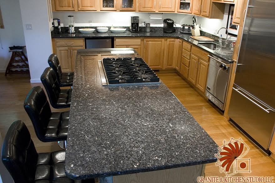 Blue Pearl Granite Kitchen Studio