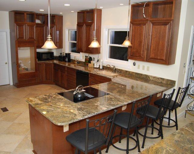 Strange Backsplash Granite Kitchen Studio Interior Design Ideas Tzicisoteloinfo