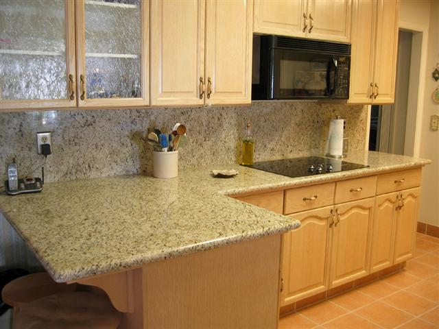 Backsplash - Granite & Kitchen Studio on Granite Countertops With Backsplash  id=40179
