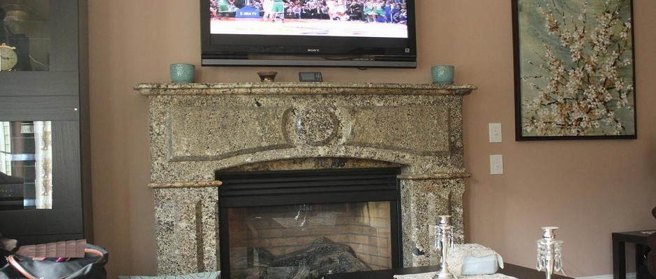 Fireplace Taub Namibia Granite