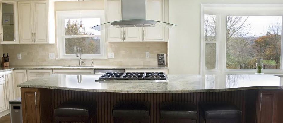 Green Waves Countertops And Wellington Cabinets Granite